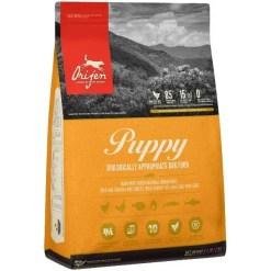 ORIJEN Puppy Dry Dog Food, 4.5-lb Bag.