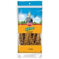 Kaytee Natural Spray Millet Bird Treats, 7-oz Bag.