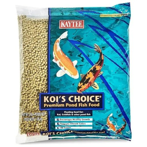 Koi's Choice Premium Fish Food, 3-lb Bag.