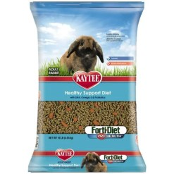 Kaytee Forti-Diet Pro Health Adult Rabbit Food, 10-lb Bag.