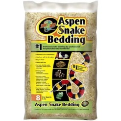 Zoo Med Aspen Snake Bedding, 8-qt Bag.