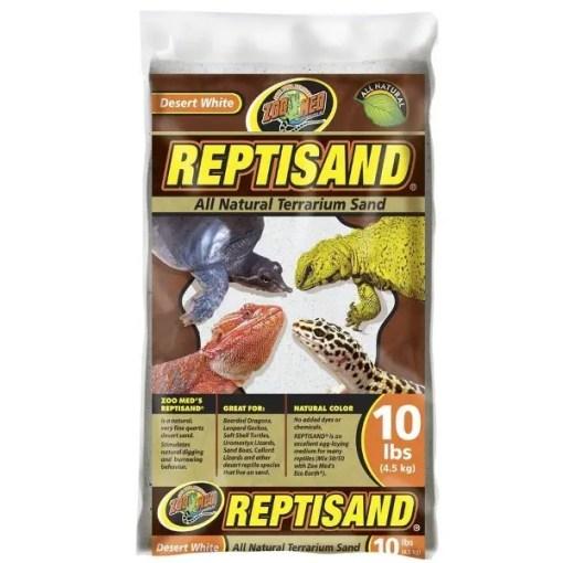 Zoo Med ReptiSand Desert White, 10-lb Bag.