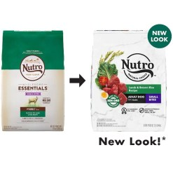 Nutro Natural Choice Small Bites Adult Lamb & Brown Rice Recipe Dry Dog Food, 12-lb