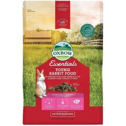 Oxbow Essentials Bunny Basics Young Rabbit Food, 5-lb Bag.