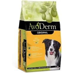 AvoDerm Natural Adult Chicken Meal & Brown Rice Formula, 4.4-lb Bag.