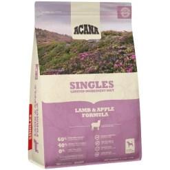 Acana Singles Lamb & Apple Dog Food, 4.5-lb Bag.