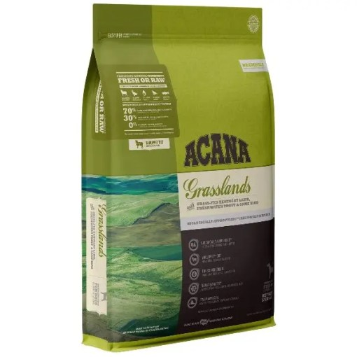 Acana Regional Grasslands Grain-Free Dog, 13-lb Bag.