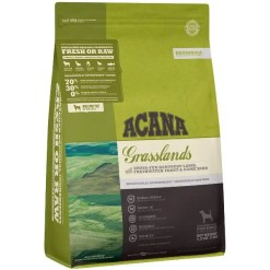 Acana Regional Grasslands Grain-Free Dog, 4.5-lb Bag.
