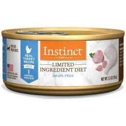 Instinct Limited Ingredient Diet Grain-Free Pate Real Turkey Wet Canned Cat Food, 5.5-oz, Case of 12.