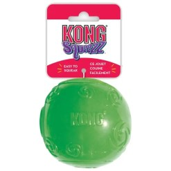 KONG Squeezz Ball Dog Toy, Large.