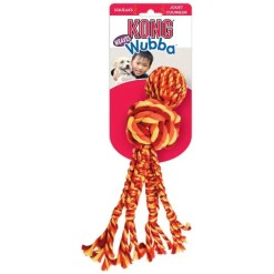 KONG Wubba Weaves with Rope Dog Toy.