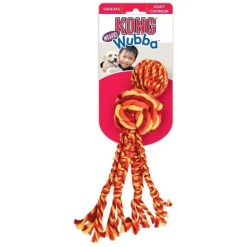 KONG Wubba Weaves with Rope Dog Toy, Large.