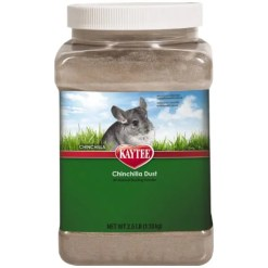 Kaytee Chinchilla Dust Bath, 2.5-lb Jar.