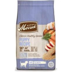 Merrick Classic Healthy Grains Puppy Recipe Dry Dog Food, 4-lb Bag.