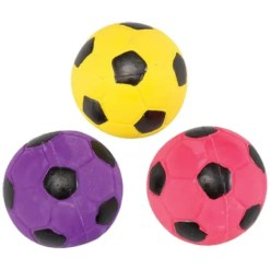 Ethical Pet Spot Vinyl Soccer Ball Dog Toy.