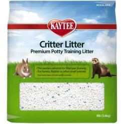 Kaytee Small Animal Critter Litter, 8-lb Bag.