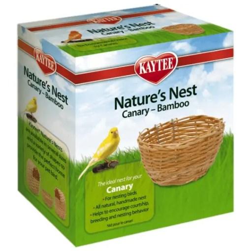 Kaytee Canary Bamboo Nature's Nest.