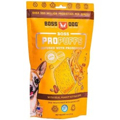 Boss Dog Propuffs Probiotic Infused Peanut Butter Dog Treats, 6-oz.