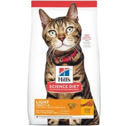 Science Diet Adult Light Chicken Recipe Dry Cat Food, 7-lb.