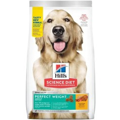Science Diet Adult Perfect Weight Chicken Recipe Dry Dog Food, 15-lb.
