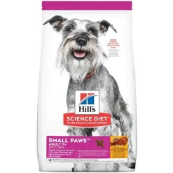 Science Diet Adult 7+ Small Paws Chicken Meal, Barley & Brown Rice Recipe Dry Dog Food, 15.5-lb.