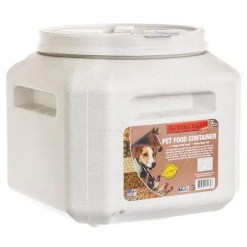 Gamma2 Vittles Vault Airtight Square Bucket, 30-lb Storage.
