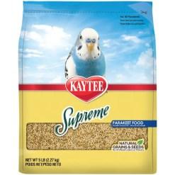 Kaytee Supreme Parakeet Food, 5-lb Bag.