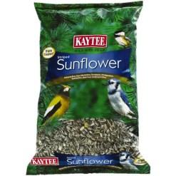 Kaytee Striped Sunflower Wild Bird Food, 5-lb Bag.