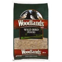 Kaytee Woodlands Wild Bird Food, 20-lb Bag.