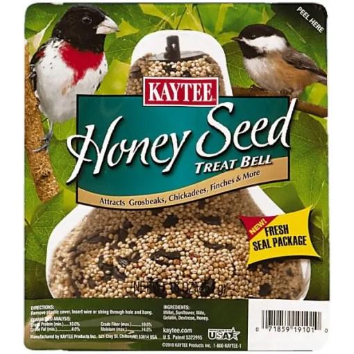 Kaytee Honey Seed Treat Bell for Wild Birds.