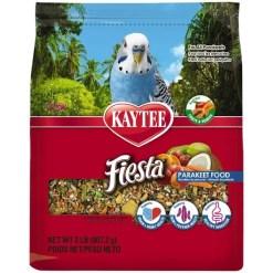 Kaytee Fiesta Parakeet Food, 2-lb Bag.