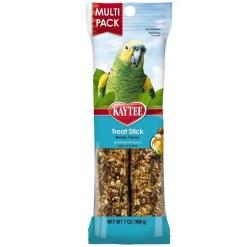 Kaytee Treat Stick Honey Flavor for Parrots, Multi-Pack.