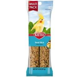 Kaytee Treat Stick Honey Flavor for Cockatiels, Multi-Pack.