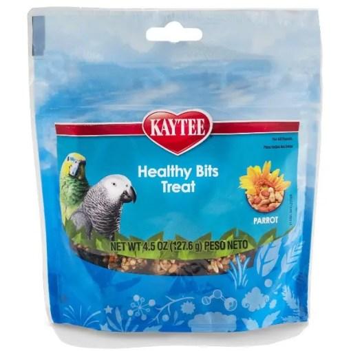 Kaytee Healthy Bits Treat for Parrots, 4.5-oz.