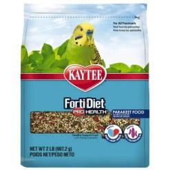Kaytee Forti-Diet Pro Health Parakeet Food, 2-lb Bag.
