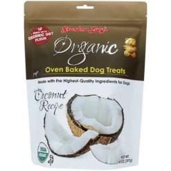Grandma Lucy's Organic Coconut Oven Baked Dog Treats, 14-oz Bag.