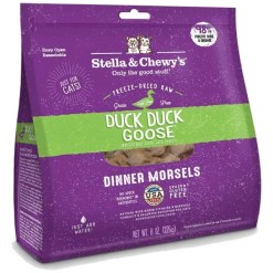 Stella & Chewy's Duck Duck Goose Dinner Morsels Freeze-Dried Raw Cat Food, 8-oz.