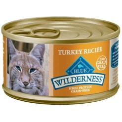 Blue Buffalo Wilderness Turkey Grain-Free Canned Cat Food, 5.5-oz SKU 5961000768