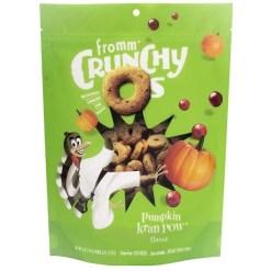 Fromm Crunchy O's Pumpkin Kran Pow Flavor Dog Treats, 6-oz SKU 7270512160