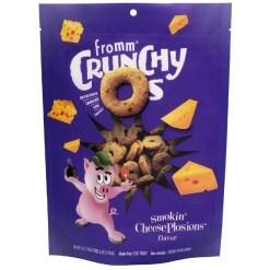 Fromm Crunchy O's Smokin' CheesePlosions Flavor Dog Treats, 6-oz SKU 7270512150