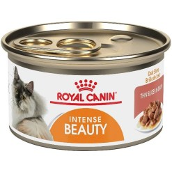 Royal Canin Intense Beauty Thin Slices in Gravy Canned Cat Food, 3-oz SKU 3011160442