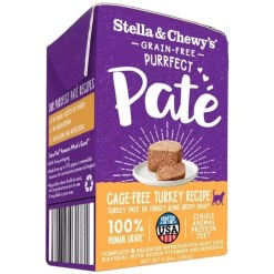 Stella & Chewy's Purrfect Pate Cage Free Turkey Recipe Wet Cat Food, 5.5-oz SKU 5230100833