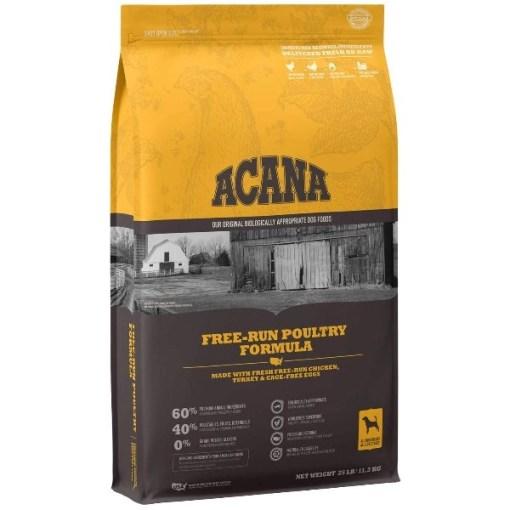 ACANA Free-Run Poultry Recipe Dry Dog Food, 25-lb SKU 6499250125