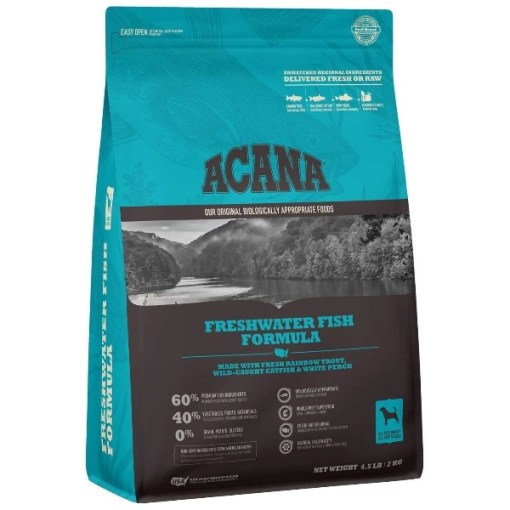 ACANA Freshwater Fish Formula Dry Dog Food, 4.5-lb SKU 6499250245