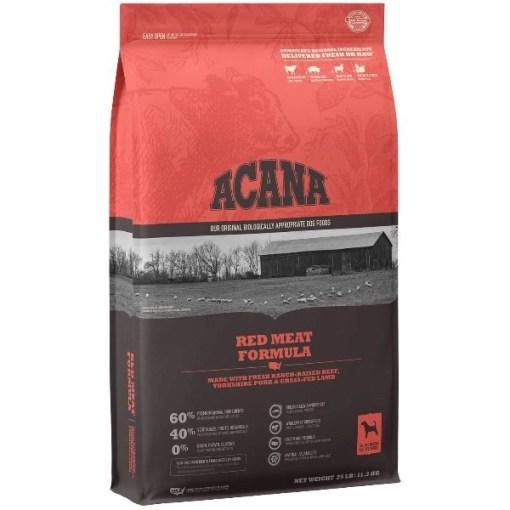 ACANA Red Meat Formula Dry Dog Food, 25-lb SKU 6499250325