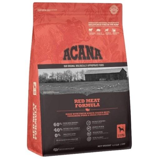ACANA Red Meat Formula Dry Dog Food, 4.5-lb SKU 6499250345