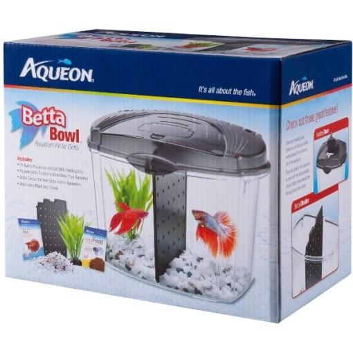 Aqueon Betta Bowl Kit, Black SKU 1590501216
