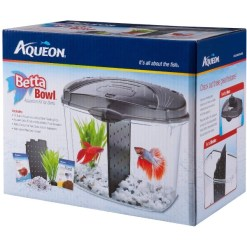 Aqueon Betta Bowl Kit, Black SKU 1590501216