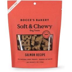 Bocce's Bakery Soft & Chewy Salmon Recipe Dog Treats, 6-oz SKU 857155007466