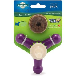 Busy Buddy Jack Treat Dispenser Tough Dog Chew Toy, Small SKU 5902309335